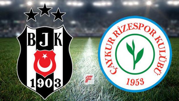 Beşiktaş - Çaykur Rizespor maçı Hangi Kanalda? Saat Kaçta?