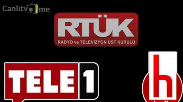 RTÜK, TELE 1 ve Halk TV Kanallarına Yayın Durdurma Cezası! Bir Daha Ceza Alırlarsa…